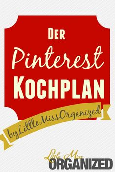 Wochenkochplan Organize Your Life, Little Miss, North Face Logo, Meal Prep, Organizing, Label, Cleaning, Halloween, Food