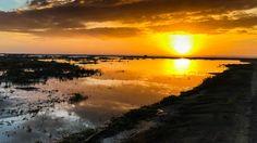 Reflection of Fiery Sunset Over Grayland - http://www.xexplore.com/sunset-grayland/?utm_campaign=coschedule&utm_source=pinterest&utm_medium=Steve&utm_content=Reflection%20of%20Fiery%20Sunset%20Over%20Grayland