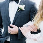 Coastal romance wedding inspiration | Wedding Sparrow