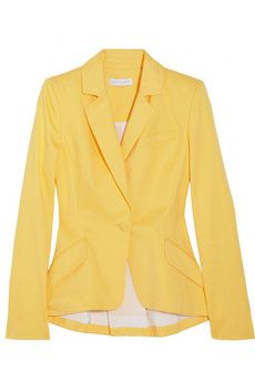 AltuzarraAcacia cotton-twill blazer