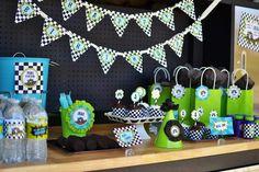 Monster Truck Birthday Party via Kara's Party Ideas | Kara'sPartyIdeas.com #truck #party #supplies #ideas (20) | Kara's Party Ideas