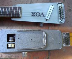 ha! the Vox Wahwah pedal as body :)