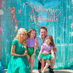 Welcome Mermaids Celebrating our littlest #presleys4thbirthday
