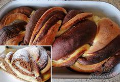 Dvoubarevné pečivo za pár kaček | NejRecept.cz Pancakes, French Toast, Breakfast, Food, Author, Morning Coffee, Essen, Pancake, Meals