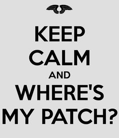 Yeah what the hell when do I get a patch..... hush hush series
