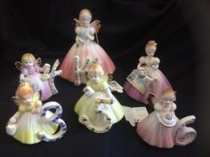 Excited to share this item from my shop: Josef Originals by Applause Birthday Angels ~ price is per each item ~ Ages Blonde Hightlights, Birthday Angel, Gold Tips, Gold Highlights, Yellow Flowers, Aurora Sleeping Beauty, Vintage Items, Wings, Handmade Items