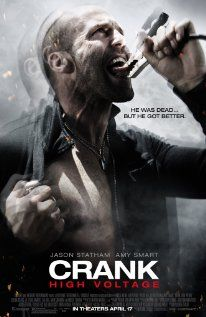 Crank: High Voltage: Chelios faces a Chinese mobster who has stolen his nearly indestructible heart and replaced it with a battery-powered ticker that requires regular jolts of electricity to keep working