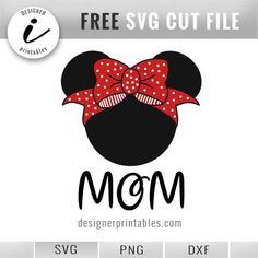disney mom, disney svg, free disney svg, free minnie mouse svg, free svg disney, minnie mouse red bow