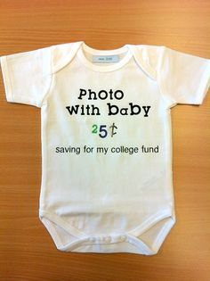 My baby would have been a millionaire by now if he had this babygrow when he was small