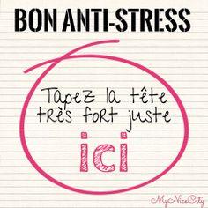 Bon anti-stress - #MyNiceCity