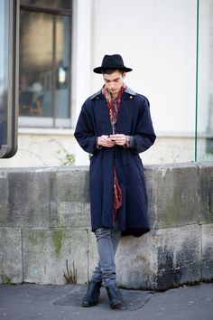 Hat + Long Jacket - The Cut