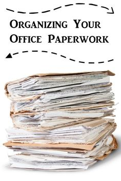 How to Organize Your Office Paperwork {52 Weeks to a More Organized Home/Life} - diy organization tips & ideas!