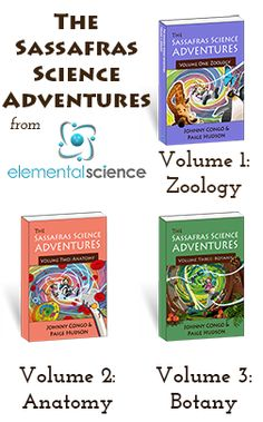 The Novels of the Sassafras Science Adventures Series | Living Books Curriculum for Science by Elemental Science #SassSciAdv