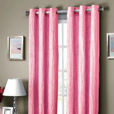 Jericho Crushed Synthetic Grommet Curtain Panel
