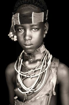 Hamar (Hamer) Tribe ~ Omo Valley, Southern Ethiopia (Photo above is by [Mario Gerth] ~ November Image courtes. African Girl, African Beauty, African Women, Ethiopian Wedding, Tribal People, African Tribes, Portraits, Westerns, African Culture