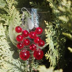 Tűzpiros bogyós fülbevaló Ale, Christmas Wreaths, Holiday Decor, Ale Beer, Ales, Beer