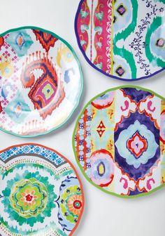 anthropologie - tasarım tabaklar