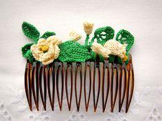 crochet hair accessory