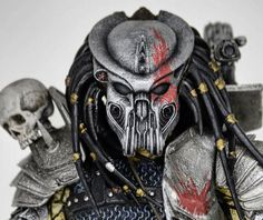 Scarface Predator New Way Devil Predator Custom Action Figure
