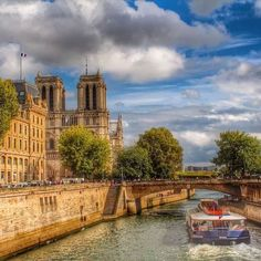 Notre Dame and its water