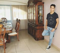 joel pimentel - Buscar con Google Sing To Me, He's Beautiful, Favorite Person, China Cabinet, Bae, Celebs, My Love, Storage, Furniture