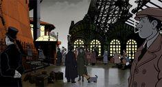 """Disfruta el trailer de la película """"Un monde truqué"""", una grandiosa mezcla de Julio Verne y las historietas de Jacques Tardi http://ablefaria.com/2015/01/21/trailer-un-monde-truque-jacques-tardi/"""