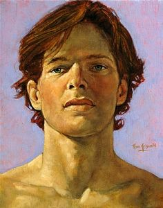Ron Griswold Head Study...090511 Oil on Canvas 10 x 8