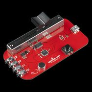 PicoBoard - SparkFun Electronics If you're adept with Scratch, this is a great next step. It has various sensors (light, sound etc) on the board which Scratch can read. It turns mini-programmers into inventors!