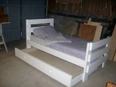 Twin trundle bed- a must for Jett and Cobe ' s new room!