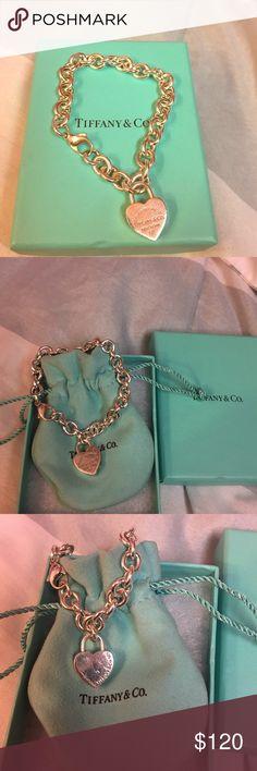 MAKE A REASONABLE OFFER‼️ Authentic Tiffany 925 silver charm bracelet. Tiffany & Co. Jewelry Bracelets