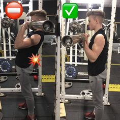 correctnes biceps exercises