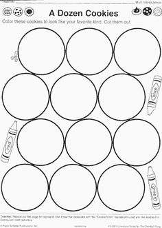 1000 Images About A Dozen Cookies On Pinterest Worksheets