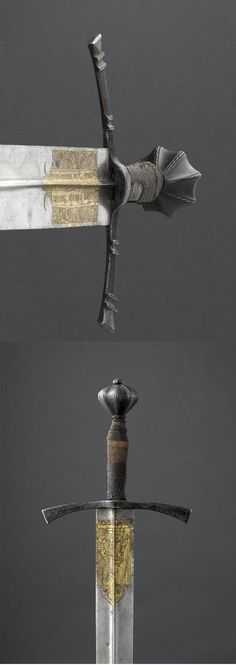 Sword of Frederick III, Holy Roman Emperor. 15th century.