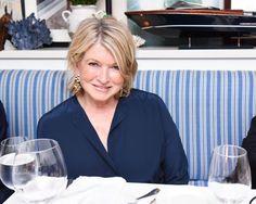 Martha Stewart Cooking Paella for a Cause in East Hampton