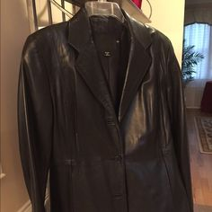 COACH Authentic soft leather jacket no flaws. Beautiful coach soft leather jacket in great condition. Very comfortable Coach Jackets & Coats Blazers