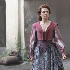 "Constance from the BBC series,"" The Musketeers"""
