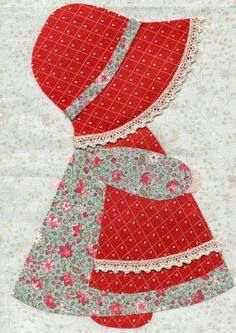 Most up-to-date Free Sunbonnet Sue quilts Popular My personal nanna designed numerous Sunbonnet Sue hindrances, which my aunt discovered and also conv Quilt Block Patterns, Applique Patterns, Applique Quilts, Applique Designs, Embroidery Applique, Embroidery Designs, Sewing Patterns, Quilt Blocks, Sunbonnet Sue