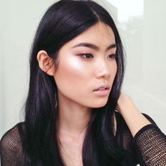 STROBING:  Apply highlighter on cheekbones, brow bones, the center of your forehead, down your nose and on your chin. Beauty Trends We're Just Not Buying | The Zoe Report