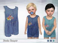 Lana CC Finds - Toddler Denim Romper
