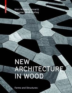 New architecture in wood : forms and structures, 2016. The twenty-four international projects in this book outline the diversity now possible in contemporary timber construction and highlight the advantages of wood over conventional forms of building. Texts, photographs, and drawings reveal both the architectural and engineering qualities of these modern timber structures - from design concepts to load-bearing aspects to design.