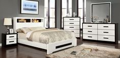 Rutger 5 PC Bedroom Set by Furniture of America