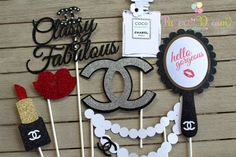 Photo props  https://www.etsy.com/listing/450164116/set-of-7-chanel-photoprops-chanel-photo
