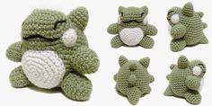 i crochet things: Free Pattern Friday: Pokemon Substitute Doll Amigurumi. FP 4/15
