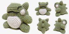 i crochet things: Free Pattern Friday: Pokemon Substitute Doll Amigurumi. FP 4/15