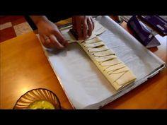 Bleskový recept na maškrtu - lístkové cesto plnené čokoládou - YouTube