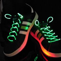 These LED laces will simply leave you in the spotlight when it comes to outrageous wardrobes. Add this accessory to your wardrobe and you will be sure to get everyone talking.