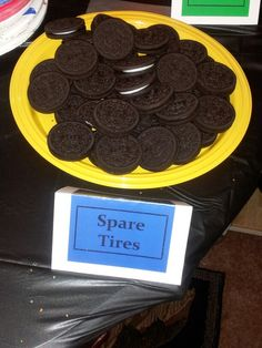 Monster truck/transportation party themed foods