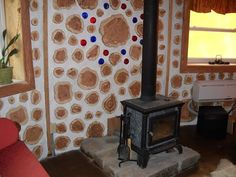 50+ Unique Cordwood Construction Ideas for Small House