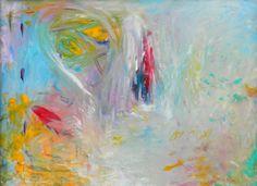 "Contentment by Shreya Paints | $100 | 24""w x 18""h | Original Art | http://www.vangoart.co/buy/art/contentment @VangoArt"