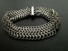 Mens or Womens Stainless Steel Chainmaille by Faroutmaille on Etsy, $70.00